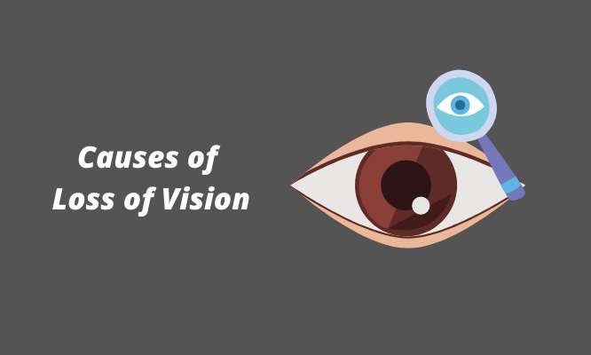causes of loss of vision