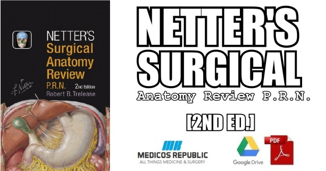 Netters Surgical Anatomy Review P R N 2nd Edition Pdf