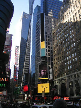 Ga Zhang «Peoples' Portrait» | Times Square, New York