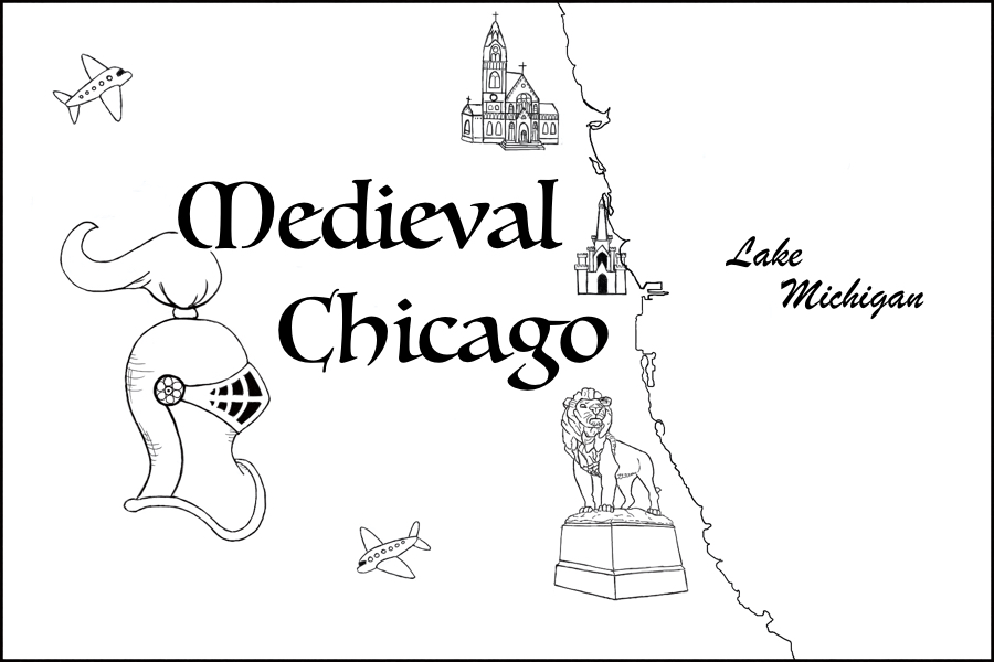 Medieval Chicago Map