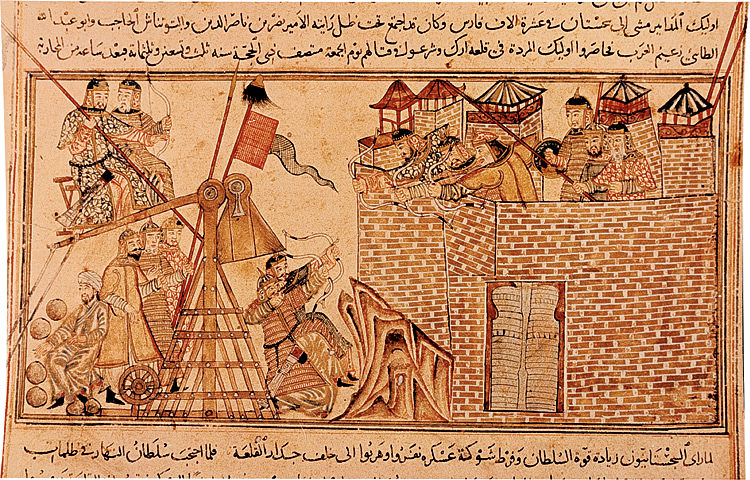Mongols Besieging A City In The Middle East 13th Century