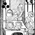Flavor Pairing in Medieval European Cuisine: A Study in Cooking with Dirty Data