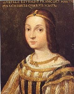 Isabella d'Este - 16th century (Wikipedia)