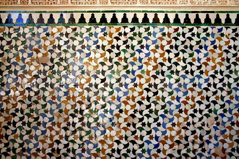 Islamic tilings of the Alhambra Palace: teaching the beauty of mathematics