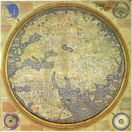 fra mauros world map c 1448 1459 mapping mediation and the indian ocean world in the early renaissance