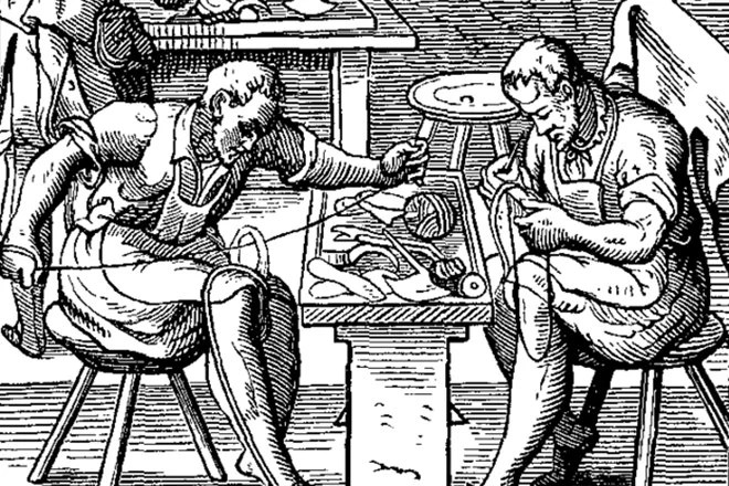 Shoemakers guild - 1568 (Wikipedia)