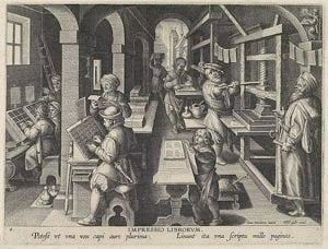 The Printing Press As An Agent Of Social Change