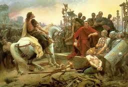 Barbarian invasion of Gaul