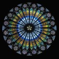 The Development of Stained Glass in Gothic Cathedrals