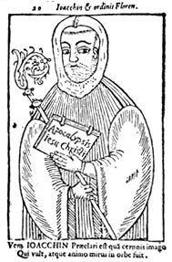 Joachim of Flora, in a 15th century woodcut.