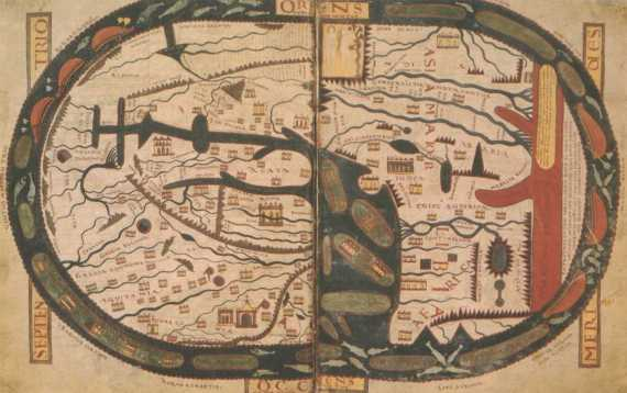 Mappa Mundi of Saint Beatus of Liébana