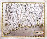 Connecticut Map 1804