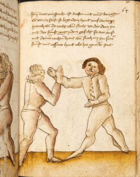 medieval fighting from the Codex Wallerstein