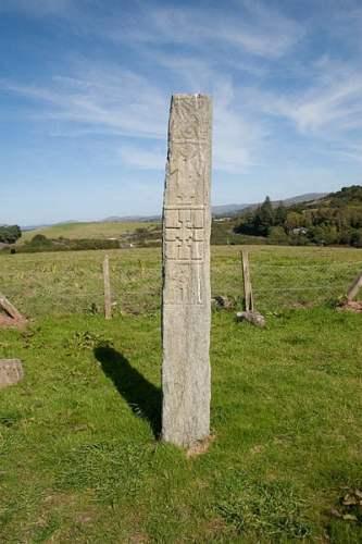 Kilnaruane Pillar - photo by Andreas F. Borchert /Wikipedia