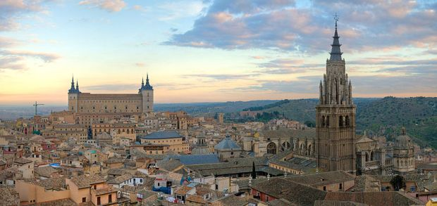 Toledo - Photo by DAVID ILIFF. License: CC-BY-SA 3.0""