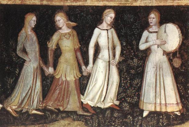 italian medieval dancing