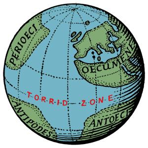 The Terrestrial Sphere of Crates of Mallus (ca. 150 B.C.).