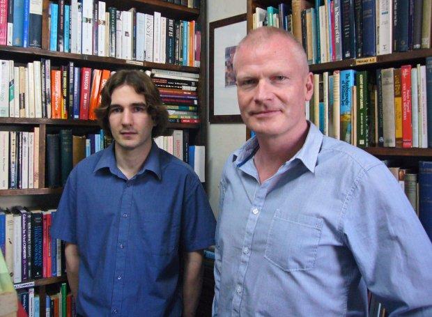 Coventry University researchers Pádraig Mac Carron and Ralph Kenna