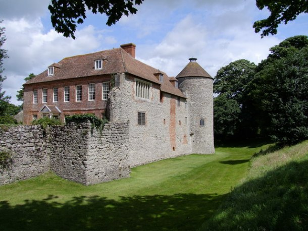 Castle for Sale in England: Westenhanger Castle - photo by Ian Knox/Wikipedia commons