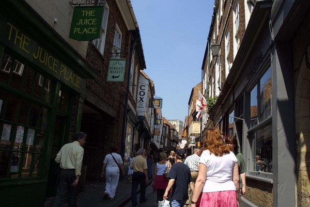 The Shambles in York - Photo by Steve Daniels