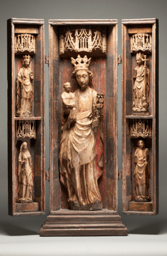 Virgin and Child Retable