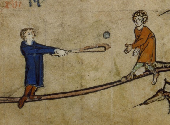 medieval sport  - photo courtesy the Walters Art Museum