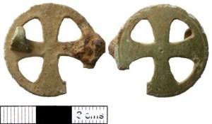 Early medieval Frisian brooch