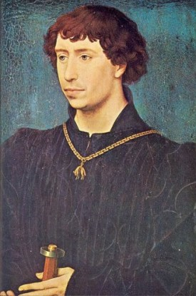 Charles the Bold, duke of Burgundy, here around 1460 as Count of Charolais