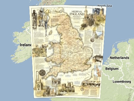 Medieval england map on google maps medievalists medieval england map on google maps publicscrutiny Gallery