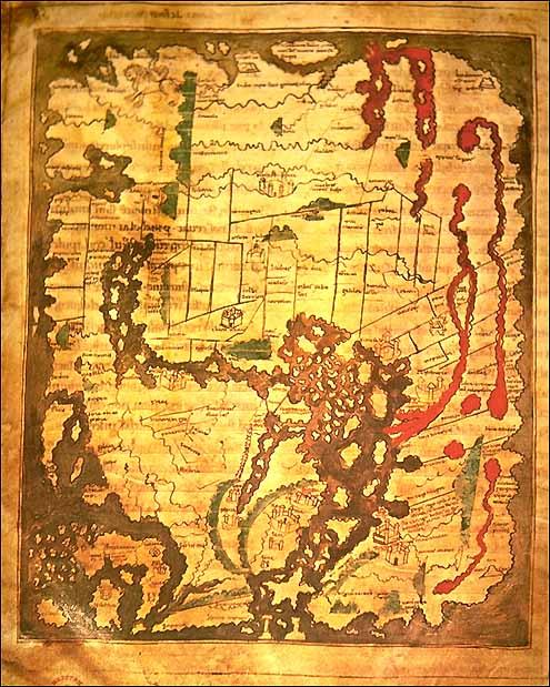 Anglo Saxon map