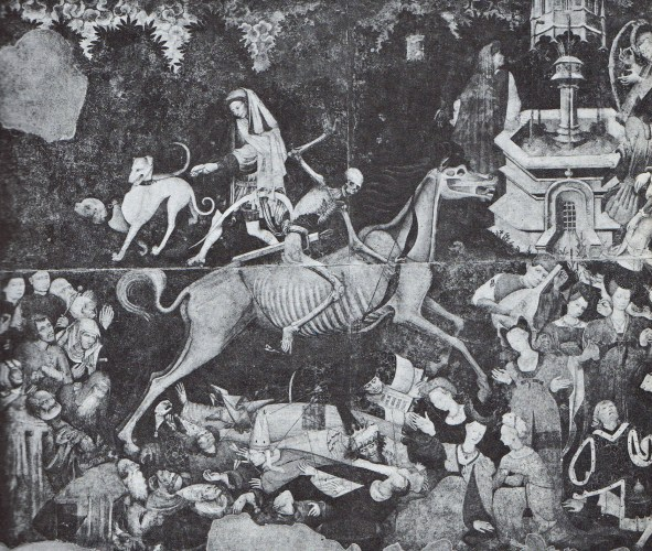 Death rode as triumphantly over nobles and churchmen as the poor'