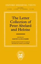 The letter collection of Peter Abelard and Heloise