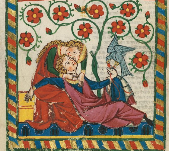 Images of medieval love
