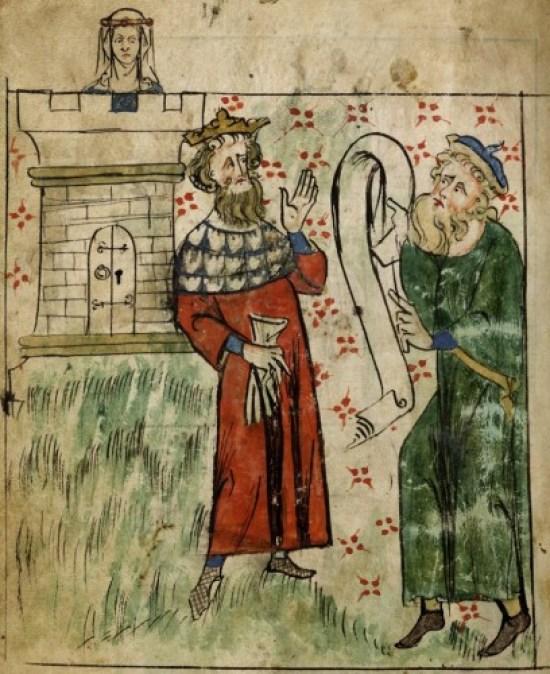 Merlin - Royal 20.A.II, f.3v British Library