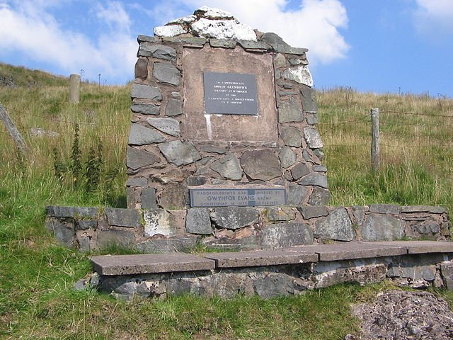 Memorial to the Battle of Hyddgen - Photo by Lyn Léwis Dafis