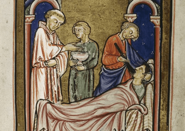 Miracle from the Life of St. Cuthbert