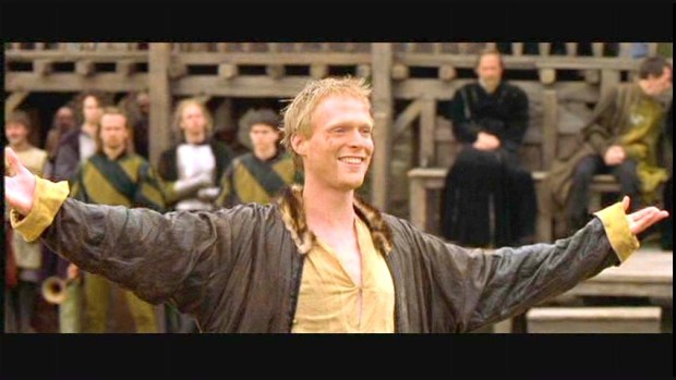 Paul-Bettany as Chaucer - A Knight's Tale