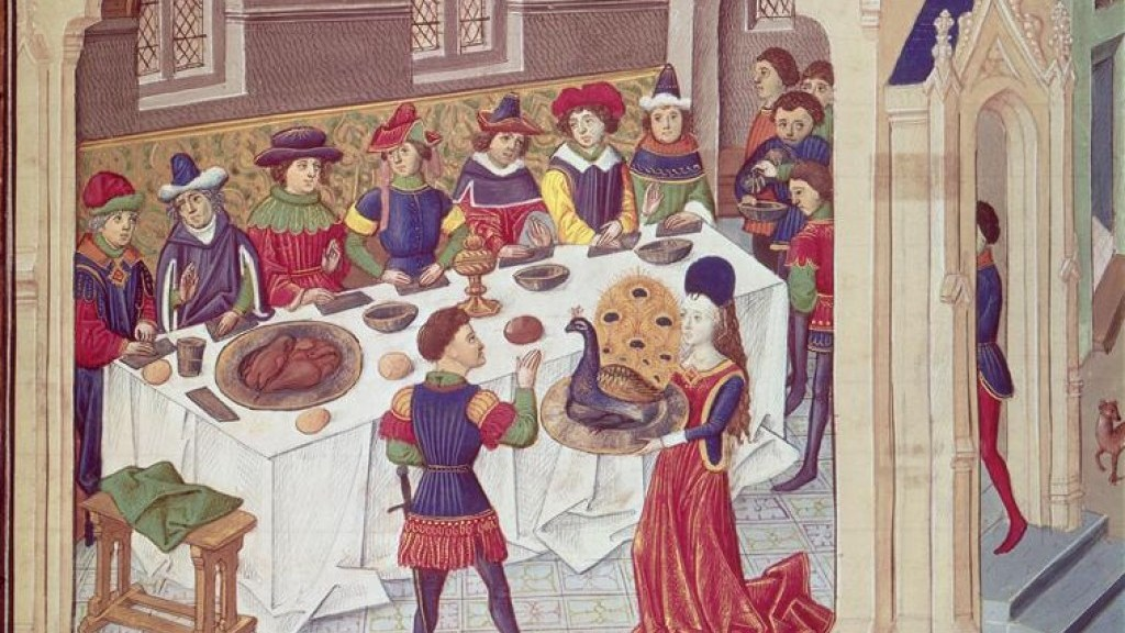When banquets were dangerous for the soul
