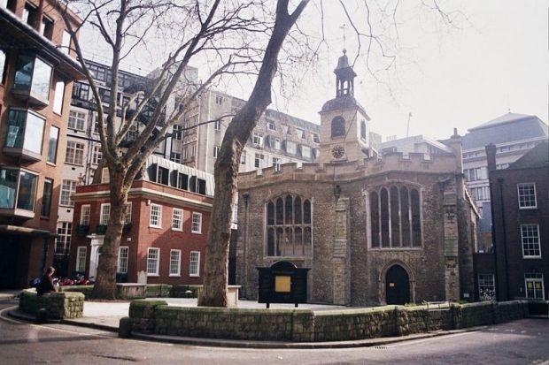 Church o St Helen Bishopsgate - photo by Elisa.rolle