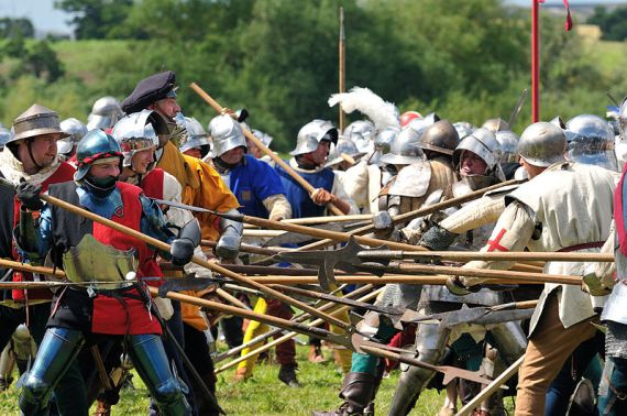 Tewkesbury Medieval Festival - photo by Fac-Man / Wikicommons