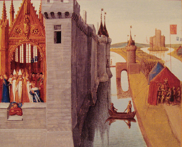 The_crowning_of_Louis_VI_in_Orleans