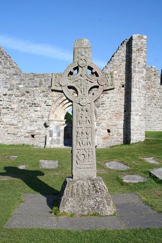 Clonmacnoise - Replica of the Cross of the Scriptures - Ireland