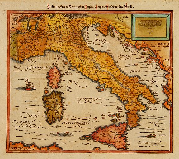 Medieval Map Of Italy.Italy And Sardinia Medievalists Net