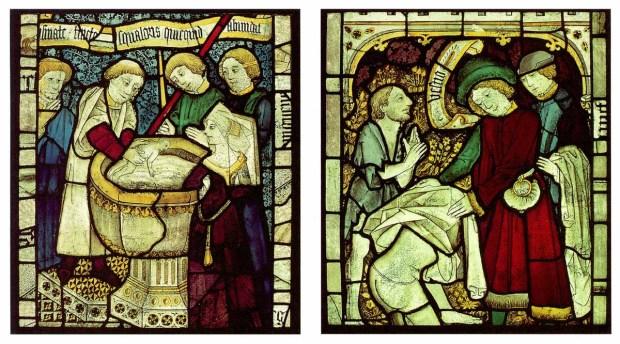 Medieval baptism