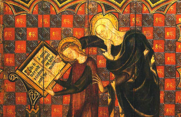saint anne teaching mary to read