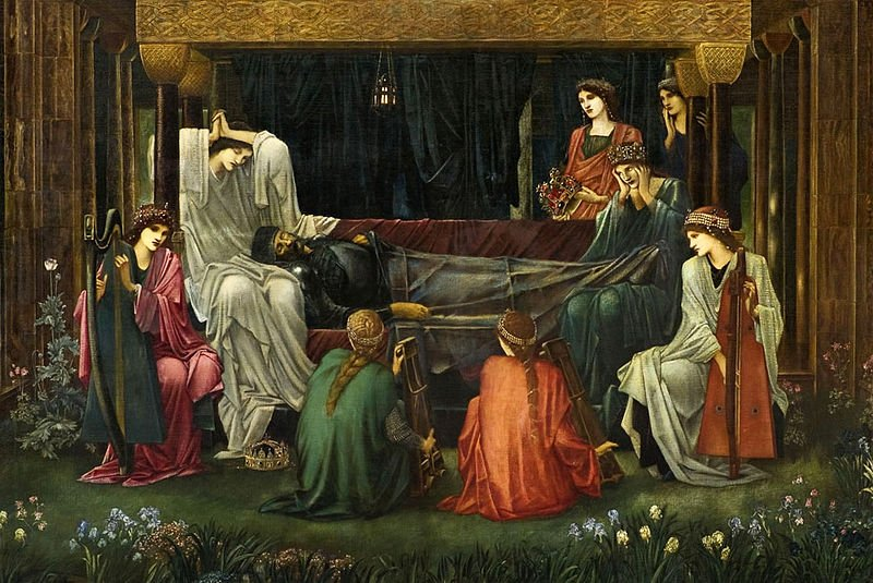 Edward Burne-Jones - The Last Sleep of Arthur