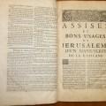 Medicine and surgery in the Livre des Assises de la Cour des Bourgeois de Jérusalem