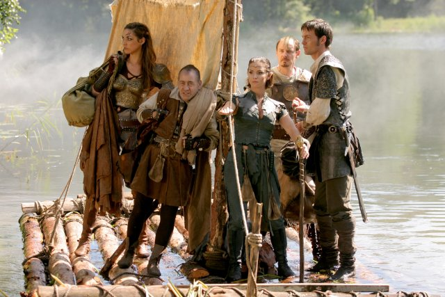 Left to Right: Lux, Nim, Ormaline, Dorian and Berek.
