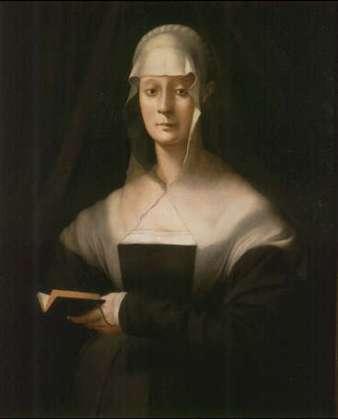 Maria Salviati portrait by Pontormo, c. 1543.