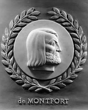Relief of Simon de Montfort in the Chamber of the United States House of Representatives